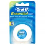 חוט דנטלי אורל בי Oral B Essential FLOSS ללא שעווה