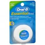 חוט דנטלי אורל בי Oral B Essential FLOSS עם שעווה